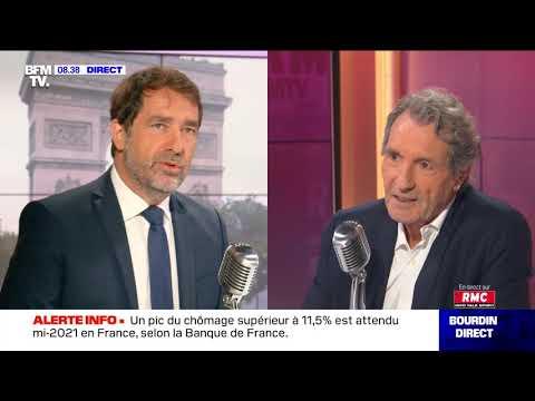 Christophe Castaner face à Jean-Jacques Bourdin en direct