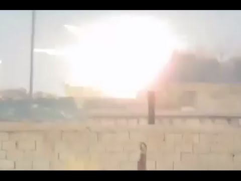 TOW missile v T-90, direct hit: Probably first-ever footage from Syrian battleground