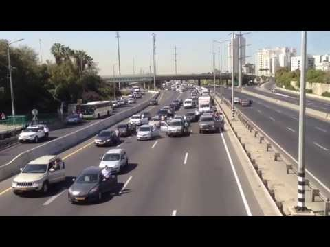 Yom Hashoah - Holocaust Remembrance Day Siren in Israel April 28th, 2014