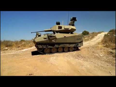 Elbit Systems' innovative AFV. Credit: Israeli MOD