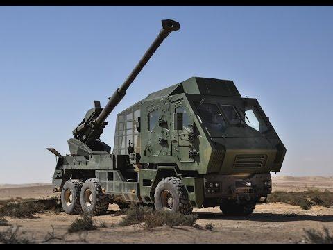New Atmos Canon 2000 6x6 artillery system - Israeli Army