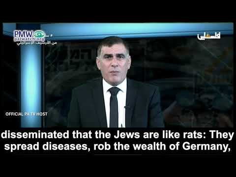 """PA: Palestinians welcomed Jews escaping the Nazis, but Jews """"betrayed"""" them"""