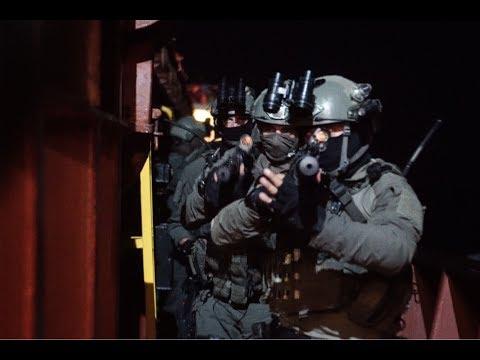 IDF Naval commando hostage rescue training