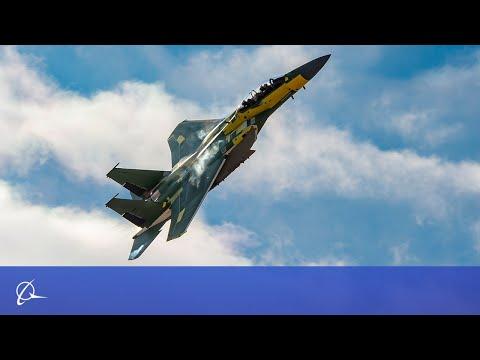 Boeing F-15EX First Flight