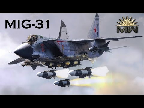 MiG-31 (Foxhound) Russian Fastest Combat JET [Review]