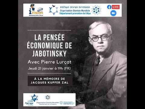 La pensée économique de Jabotinsky