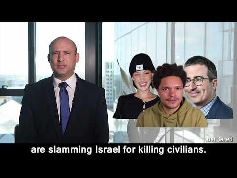 Bella Hadid, Trevor Noah & John Oliver: What would you do? Israel's former Defense Minister Bennett