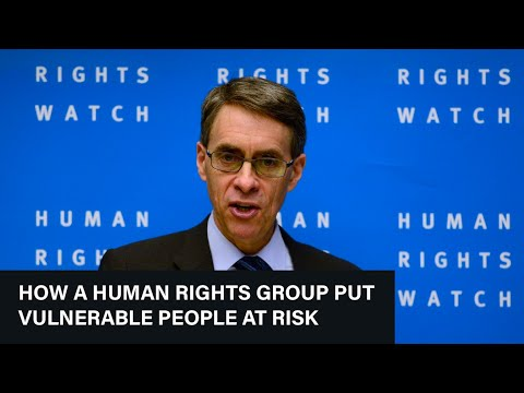How a Human Rights Group Put Vulnerable People at Risk